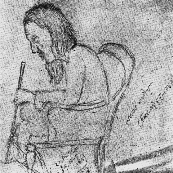 Lalon sketch by Jyotirindranath Tagore